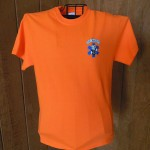 mens orange shirt